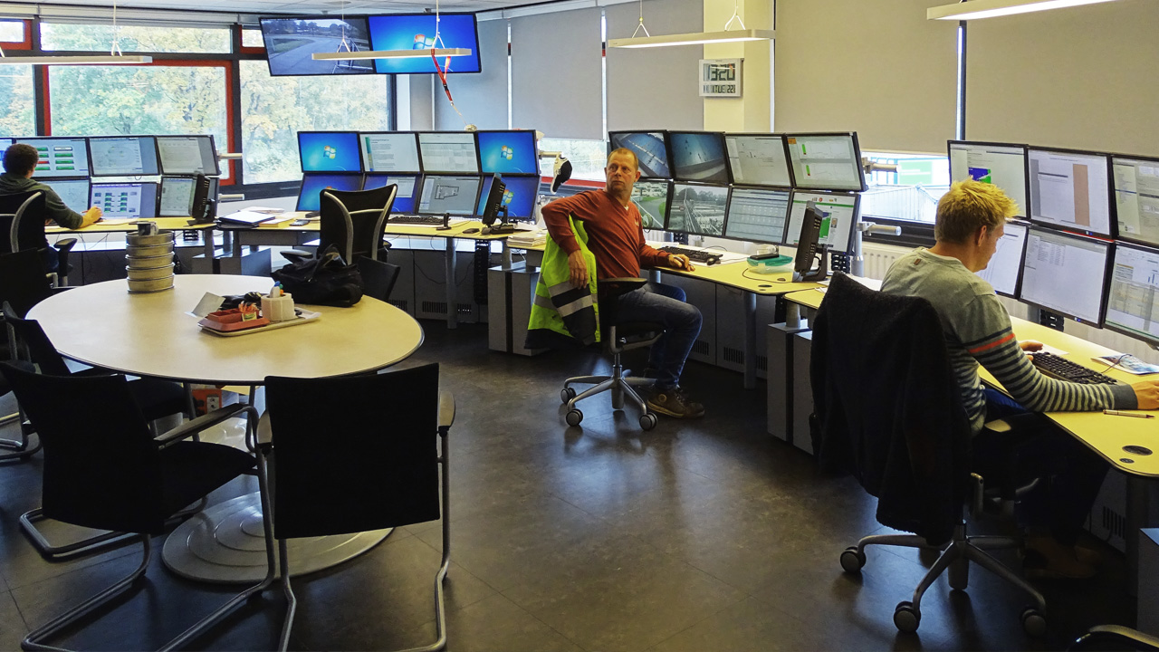 Central control of wastewater plants